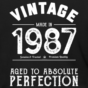 1987 Aged To Perfection 30th Birthday Present - Men's Zip Hoodie