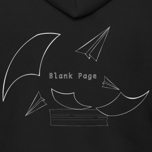 Blank Page Papers Flying - Men's Zip Hoodie
