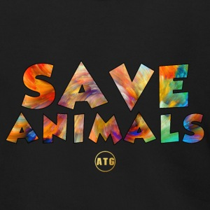 Save Animals by ATG - Men's Zip Hoodie