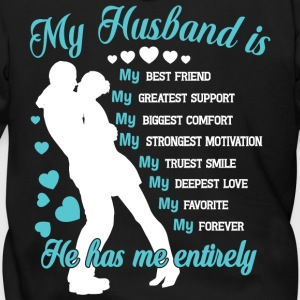 My Husband T Shirt - Men's Zip Hoodie