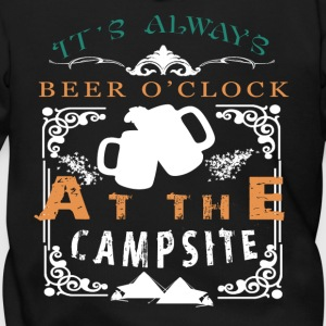 It's Always Beer O' Clock At The Campsite T Shirt - Men's Zip Hoodie