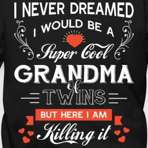 I'd Grow Up To Be A Cool Grandma T Shirt - Men's Zip Hoodie