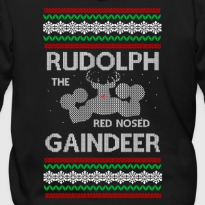 Rudolph the Gaindeer - Men's Zip Hoodie