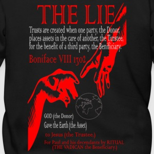 THE LIE OF ALL TIME! - Men's Zip Hoodie