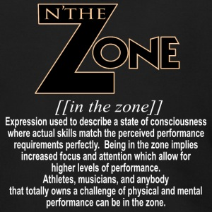in the zone definition 2 - Men's Zip Hoodie