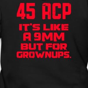 It's Like a 9mm Except for Grownups - Men's Zip Hoodie