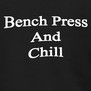 Bench Press and Chill - Men's Zip Hoodie