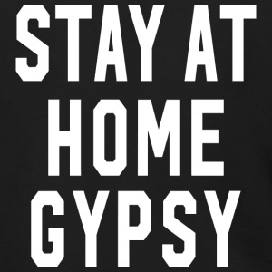 Stay at Home Gypsy Clothing Gypsy Shirt For Men an - Men's Zip Hoodie