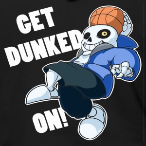 Undertale Sans Dunked - Men's Zip Hoodie