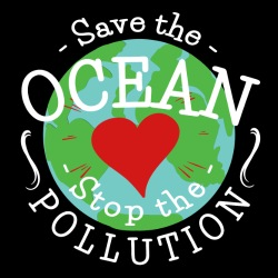 Save the ocean stop the pollution
