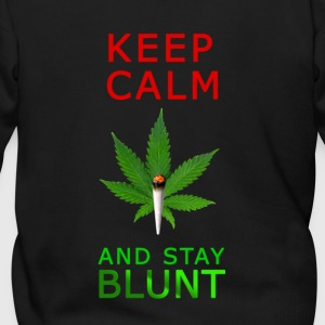 Keep Calm Stay Blunt - Men's Zip Hoodie