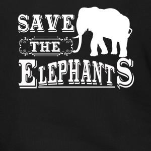 Save The Elephants Shirt - Men's Zip Hoodie