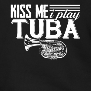 I Play Tuba Tee Shirt - Men's Zip Hoodie
