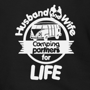 Husband And Wife Camping Partners Shirt - Men's Zip Hoodie