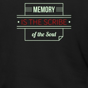Memory is the scribe of the soul - Men's Zip Hoodie