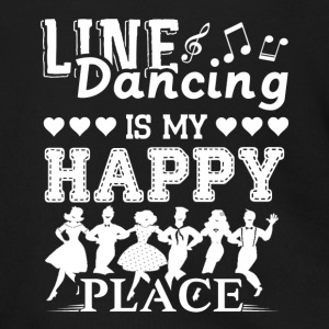 Line Dancing Is My Happy Place Shirt - Men's Zip Hoodie