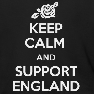 Keep Calm and support England - Men's Zip Hoodie