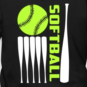 Softball T Shirt - Men's Zip Hoodie