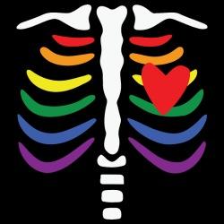 LGBTQ Skeleton