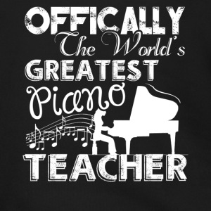 World's Greatest Piano Teacher Shirts - Men's Zip Hoodie