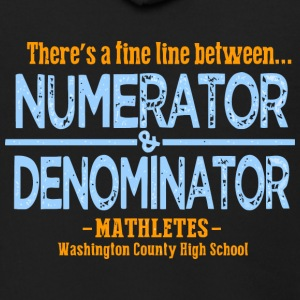 Mathletes Washington County High School - Men's Zip Hoodie