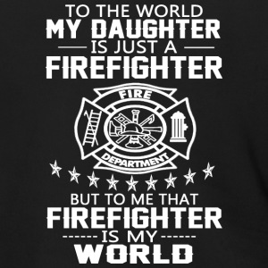MY DAUGHTER IS FIREFIGHTER T Shirt - Men's Zip Hoodie
