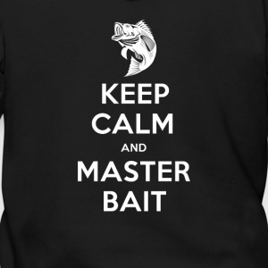 Keep Calm And Master Bait - Men's Zip Hoodie
