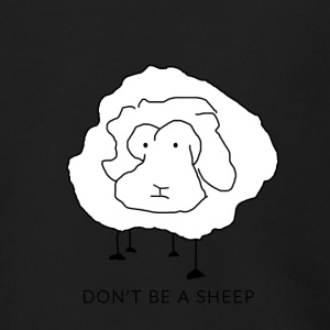 Don't be a sheep - Men's Zip Hoodie