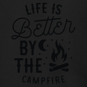 Life is Better By the Camp Fire - Men's Zip Hoodie