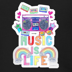 Music Is Life - Men's Zip Hoodie