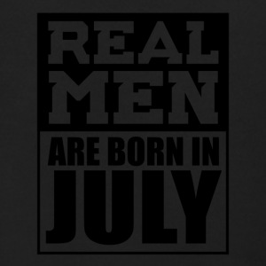 Real Men are Born in July - Men's Zip Hoodie