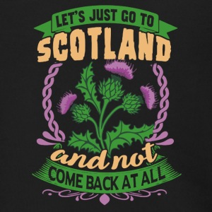 LET'S JUST GO TO SCOTLAND SHIRT - Men's Zip Hoodie