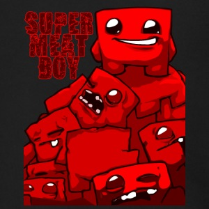 MEAT_BOY - Men's Zip Hoodie