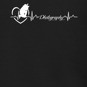 Photography Heartbeat Shirt - Men's Zip Hoodie