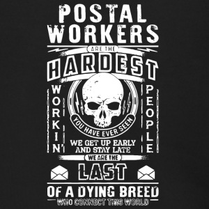 Postal Workers Are The Hardest T Shirt - Men's Zip Hoodie