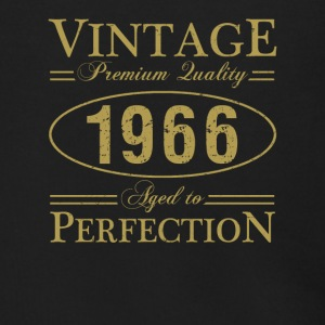 Vintage Premium Quality 1966 Aged To Perfection - Men's Zip Hoodie