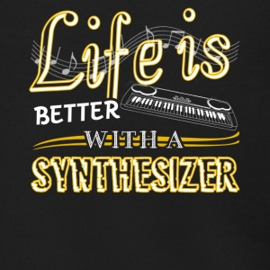 Life Is Better With Synthesizer Shirts - Men's Zip Hoodie