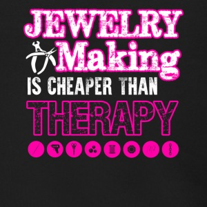 Jewelry Making Cheaper Than Therapy Shirt - Men's Zip Hoodie