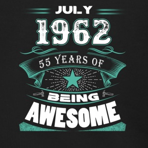July 1962 - 55 years of being awesome - Men's Zip Hoodie