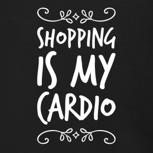 Shopping is my cardio - Men's Zip Hoodie