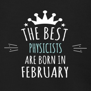 Best PHYSICISTS are born in february - Men's Zip Hoodie