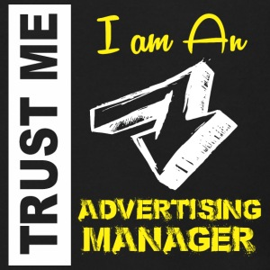 Trust Me I am An Advertising Manager - Men's Zip Hoodie