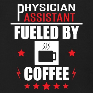 Physician Assistant Fueled By Coffee - Men's Zip Hoodie