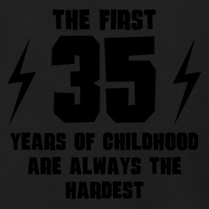 The First 35 Years Of Childhood - Men's Zip Hoodie