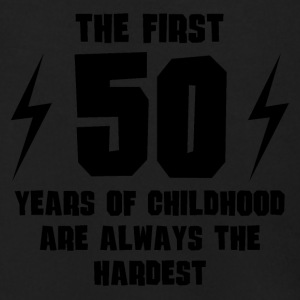 The First 50 Years Of Childhood - Men's Zip Hoodie