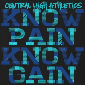 Central High Athletics Know Pain Know Gain - Men's Zip Hoodie