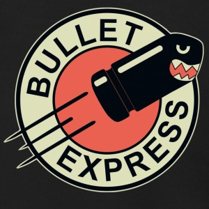 Bullet Express Black Picture - Men's Zip Hoodie