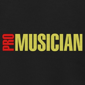 Pro musician red yellow - Men's Zip Hoodie