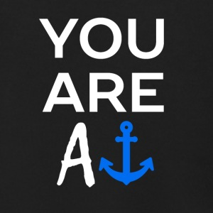 YOU ARE AN ANCHOR - Men's Zip Hoodie