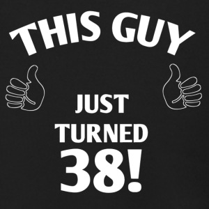 THIS GUY JUST TURNED 38! - Men's Zip Hoodie